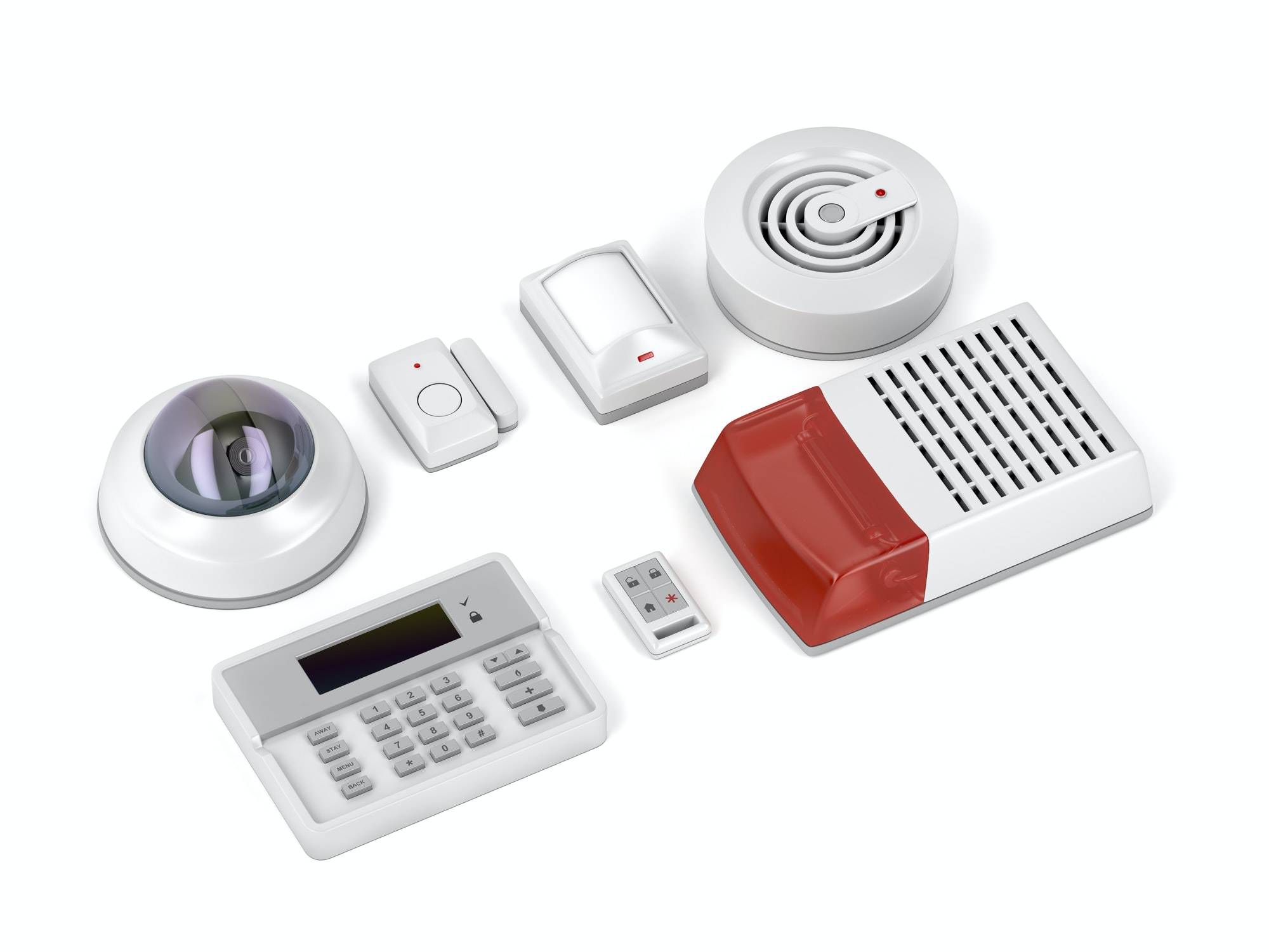 Home security electronic devices